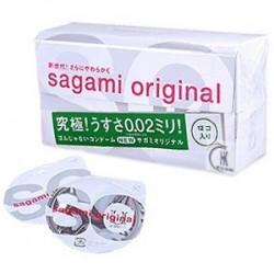 ถุงยางอนามัย Sagami Original 0.02 แบบ 1 ชิ้น