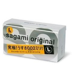 ถุงยาง Sagami Original L size 1 กล่อง