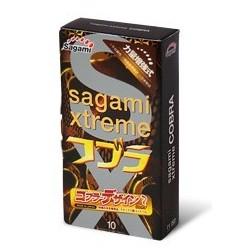 ถุงยางอนามัย sagami xtreme COBRA 1 ชิ้น