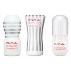 TENGA WHITE SUPER COMBO SET