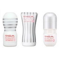 TENGA WHITE SUPER COMBO SET