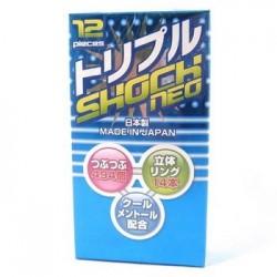 ถุงยาง Triple Shock Neo 1 กล่อง
