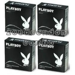 Play Boy Fetherlite 52 มม. แพค 4 กล่อง