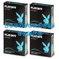Play Boy Comfort 54 มม. แพค 4 กล่อง