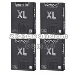 Okamoto XL เอ็กซ์แอล แพค 4 กล่อง