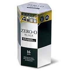 ถุงยาง Fuji Zero 0 - 0.03 Black (Mr. Dom Flower) 1 กล่อง