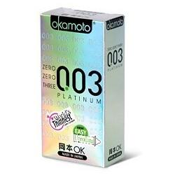 ถุงยาง Okamoto 0.03 Platinum