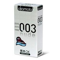 ถุงยาง Okamoto 0.03 NUDE 1 กล่อง