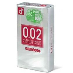 Okamoto 0.02 EX JAPAN Large headroom 1 กล่อง 6 ชิ้น