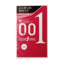 Okamoto 0.01 ZERO ONE 1 ชิ้น
