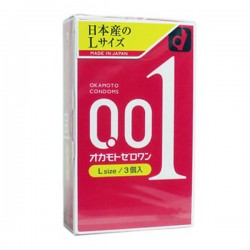 Okamoto 0.01 ZERO ONE Size L 1 ชิ้น