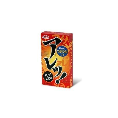 ถุงยาง sagami dot one stage 1 กล่องมี 10 ชิ้น