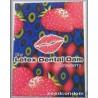 Latex Dental Dam - strawberry กลิ่นสตอเบอร์รี่ มี 1 แผ่น