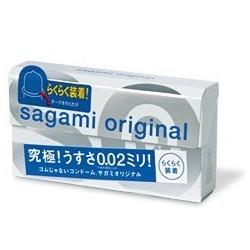 ถุงยาง Sagami Original Quick 1 กล่อง มี 6 ชิ้น