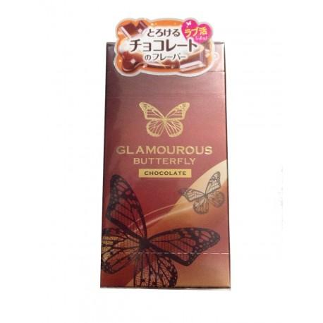ถุงยาง Glamourous Butterfly Chocolate 1 กล่อง