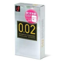 ถุงยาง Okamoto 0.02 EX Japan 1 กล่อง 12 ชิ้น
