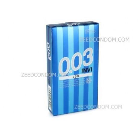 ถุงยาง JEX 0.03 INVI COOL 1 ชิ้น
