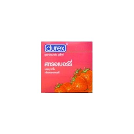 Durex Starwberry 1 กล่อง